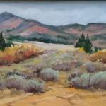 """Grand Mesa"" (oil) by Em Rojas"